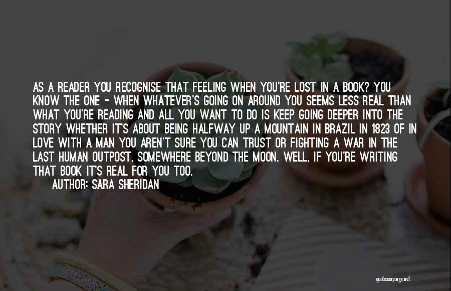 Being With The One You Want Quotes By Sara Sheridan