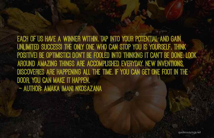 Being Your One And Only Quotes By Amaka Imani Nkosazana