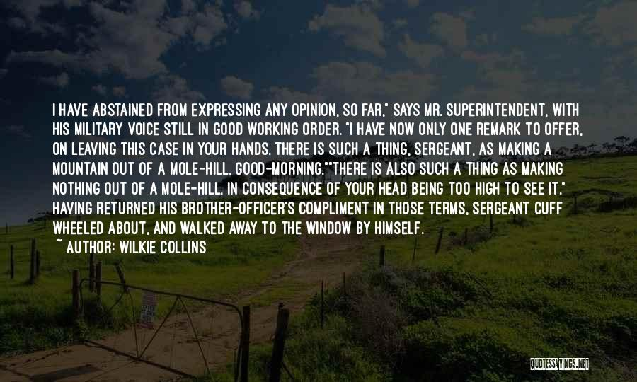 Being Your One And Only Quotes By Wilkie Collins