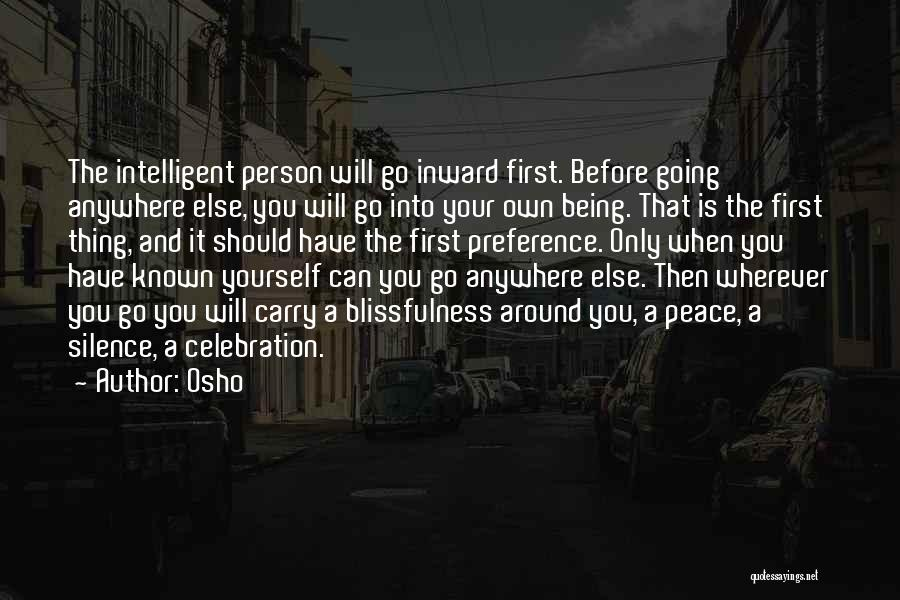 Being Your Own Person Quotes By Osho