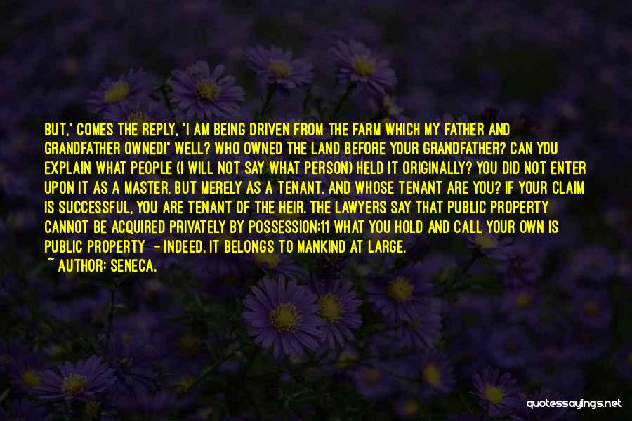 Being Your Own Person Quotes By Seneca.
