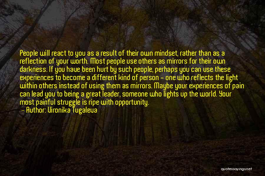 Being Your Own Person Quotes By Vironika Tugaleva