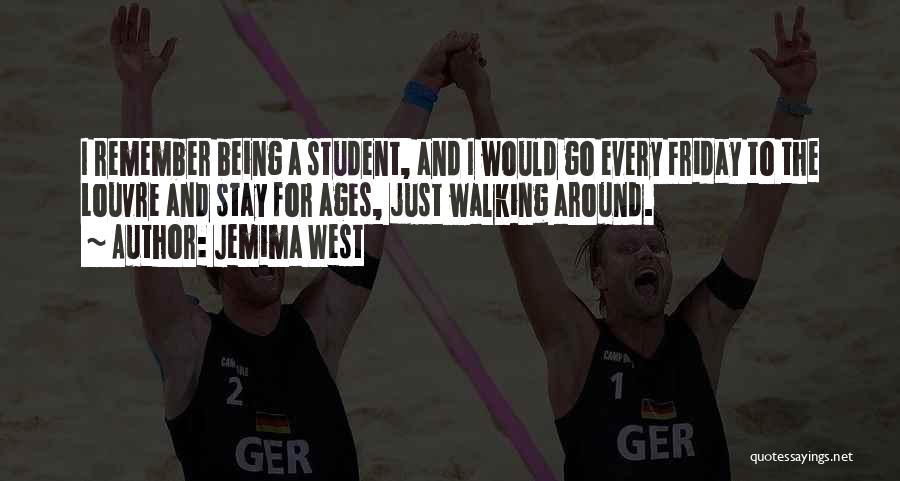 Being Yourself Around Someone Quotes By Jemima West