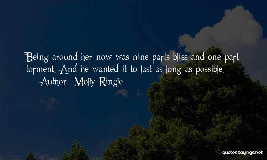 Being Yourself Around Someone Quotes By Molly Ringle
