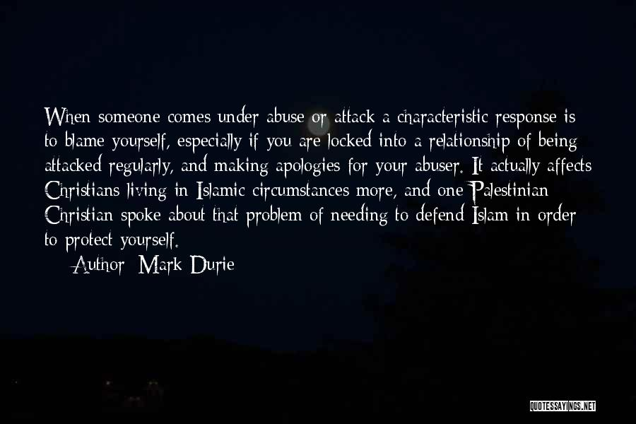 Being Yourself In A Relationship Quotes By Mark Durie