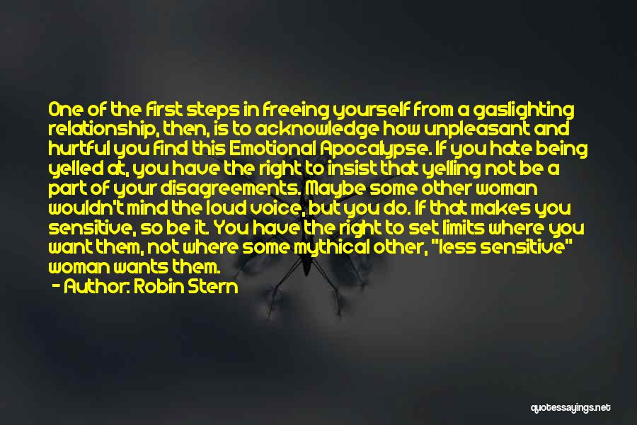 Being Yourself In A Relationship Quotes By Robin Stern
