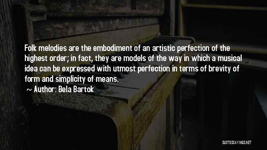 Bela Bartok Quotes 233026