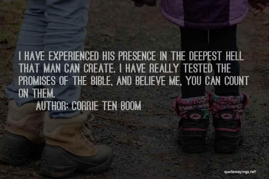 Believe In The Bible Quotes By Corrie Ten Boom