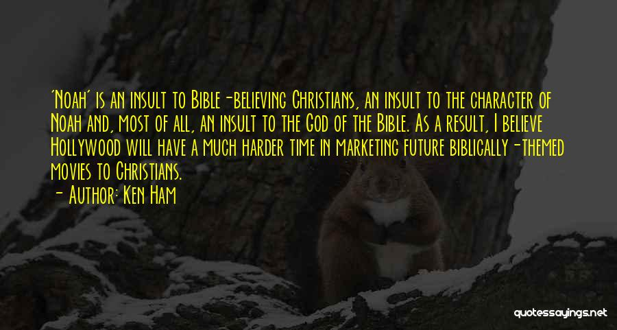 Believe In The Bible Quotes By Ken Ham
