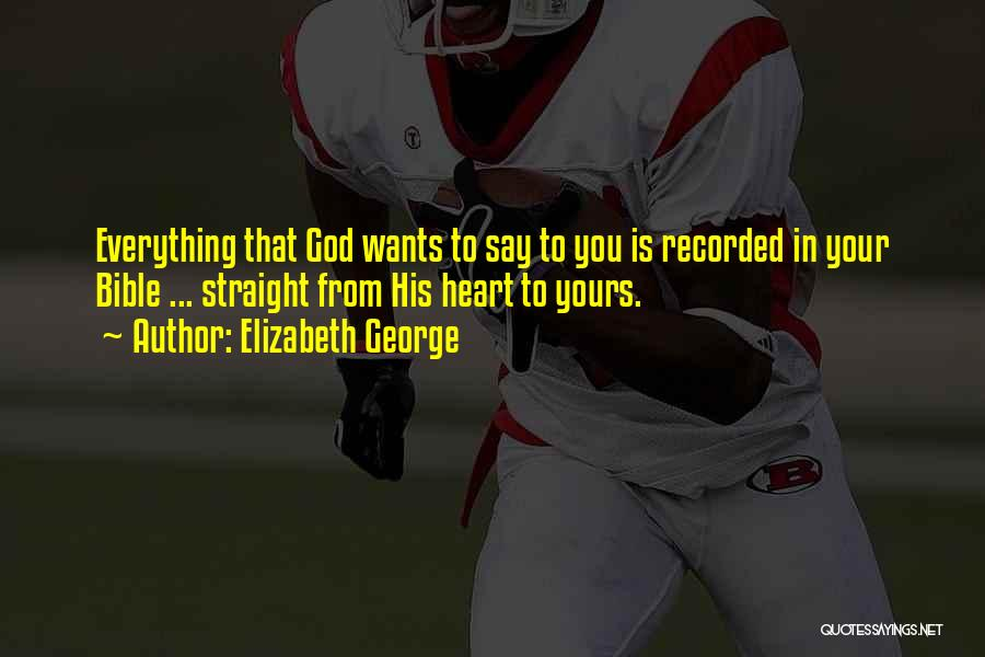Believe In Yourself Bible Quotes By Elizabeth George