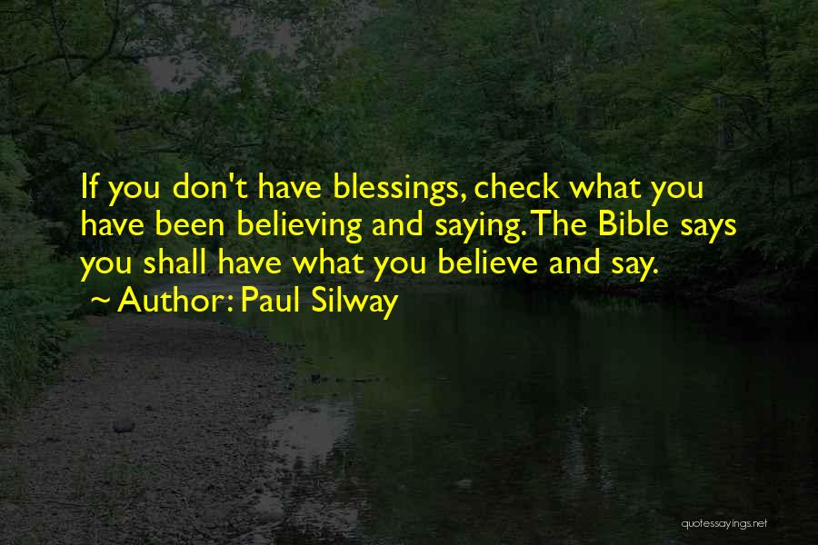 Believe In Yourself Bible Quotes By Paul Silway