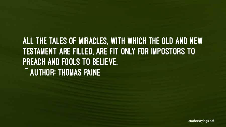 Believe In Yourself Bible Quotes By Thomas Paine
