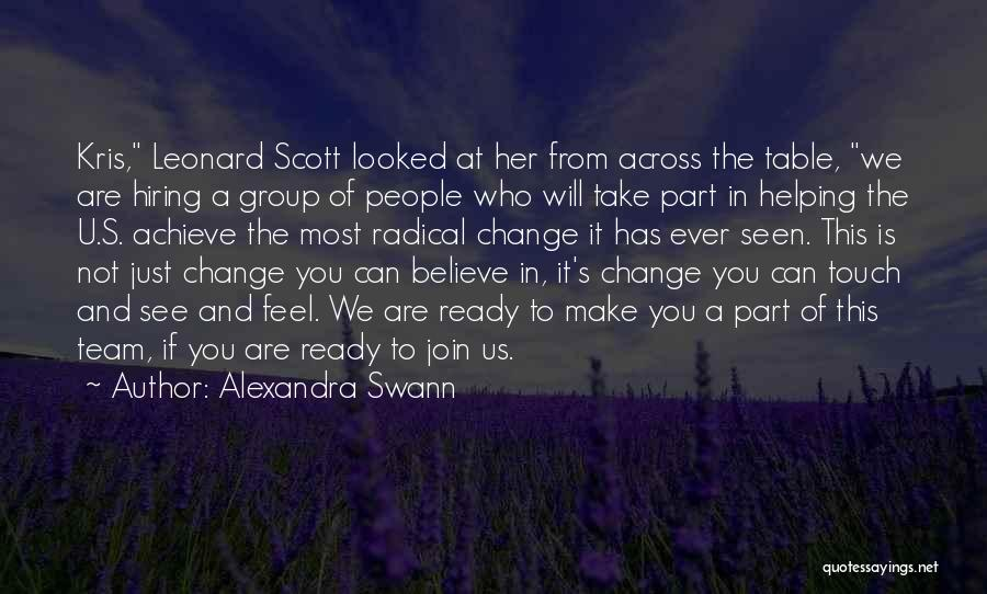 Believe You Can Achieve Quotes By Alexandra Swann