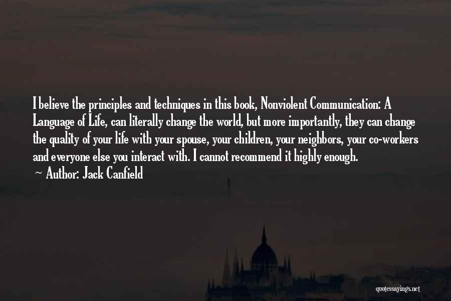 Believe You Can Change The World Quotes By Jack Canfield