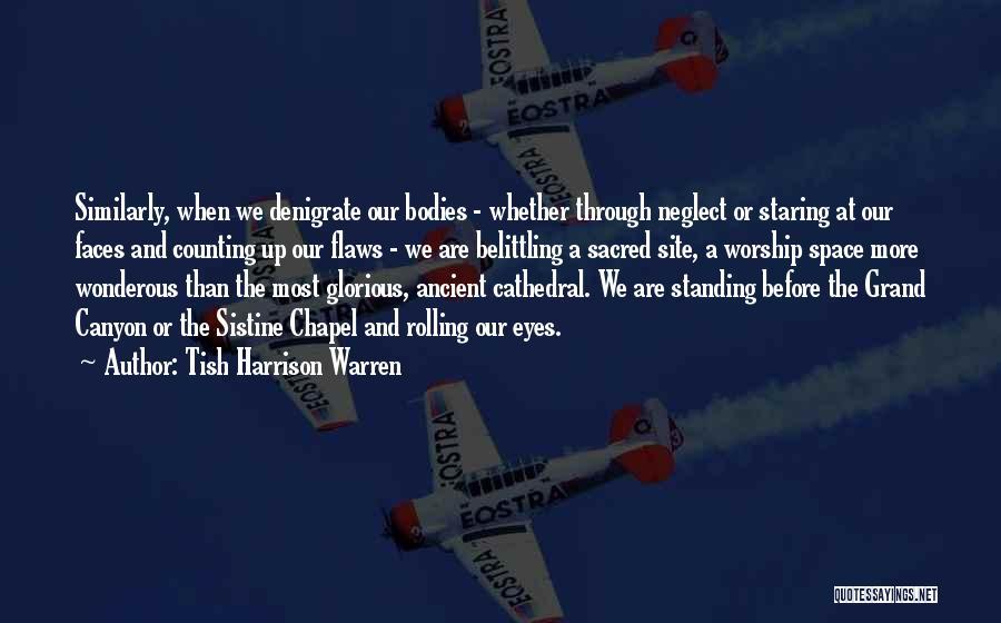 Belittling Someone Quotes By Tish Harrison Warren