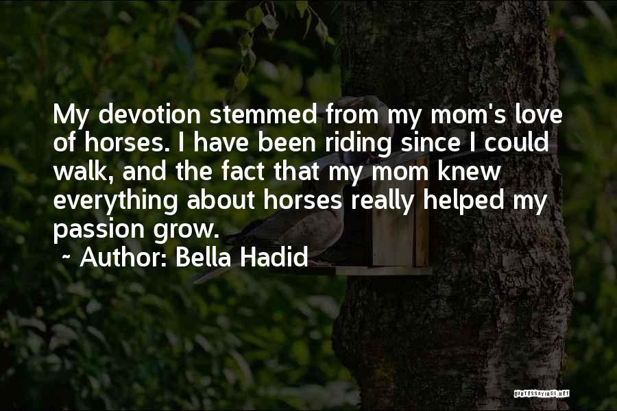 Bella Hadid Quotes 1202775