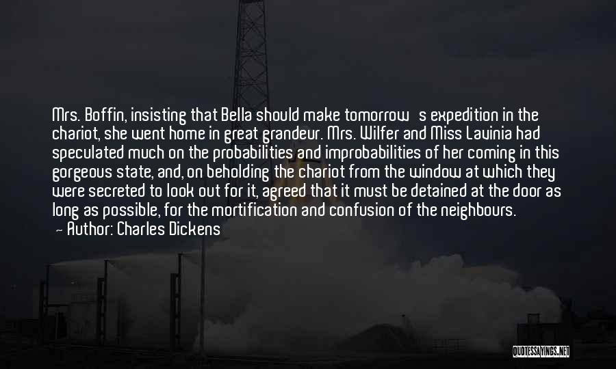 Bella Wilfer Quotes By Charles Dickens