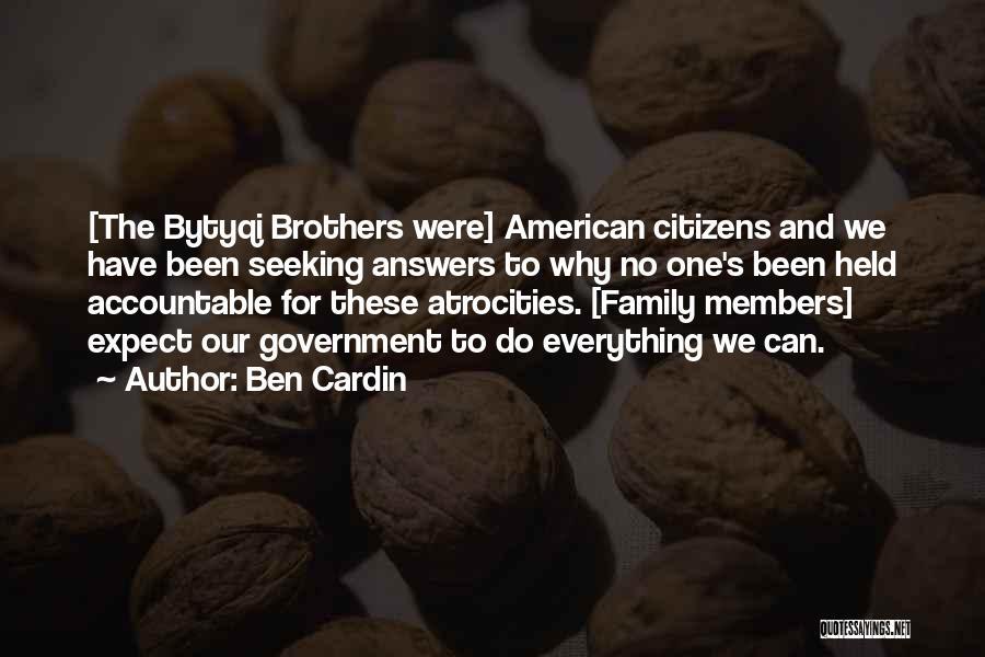 Ben Cardin Quotes 702717