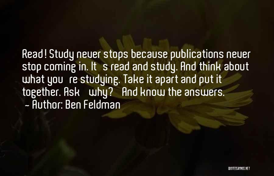 Ben Feldman Quotes 1841980