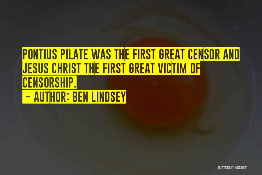 Ben Lindsey Quotes 637600