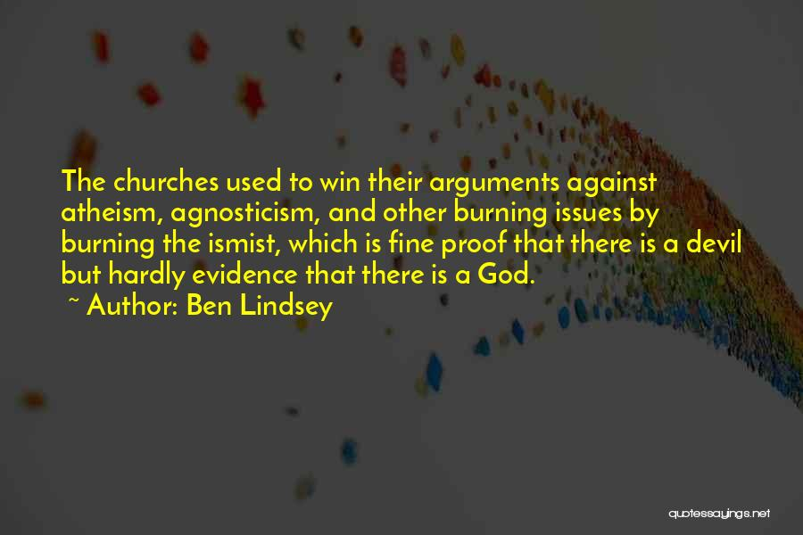 Ben Lindsey Quotes 880096