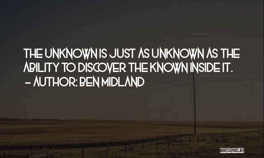 Ben Midland Quotes 495299