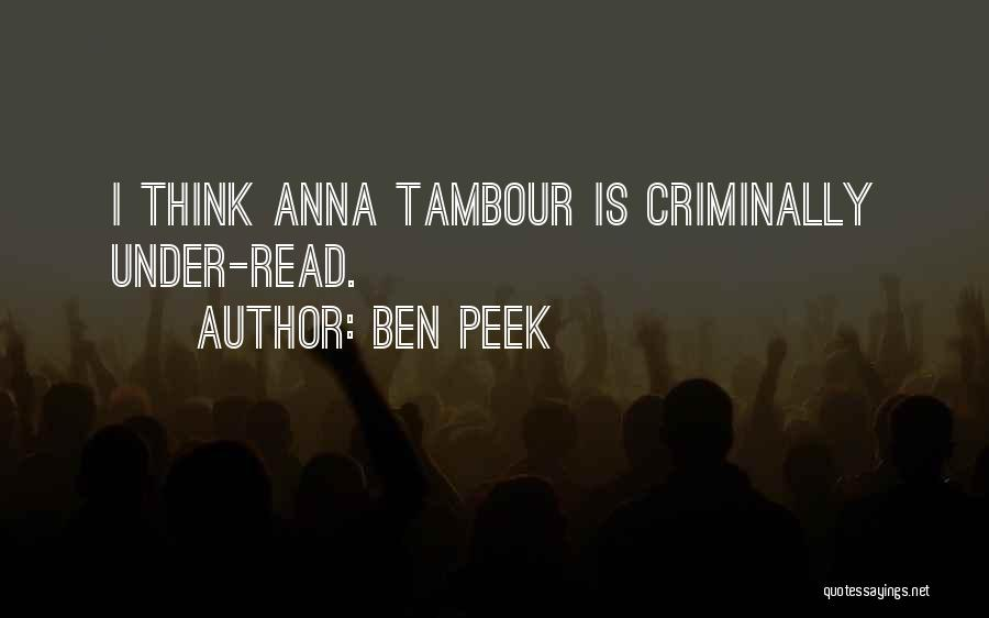 Ben Peek Quotes 1312631