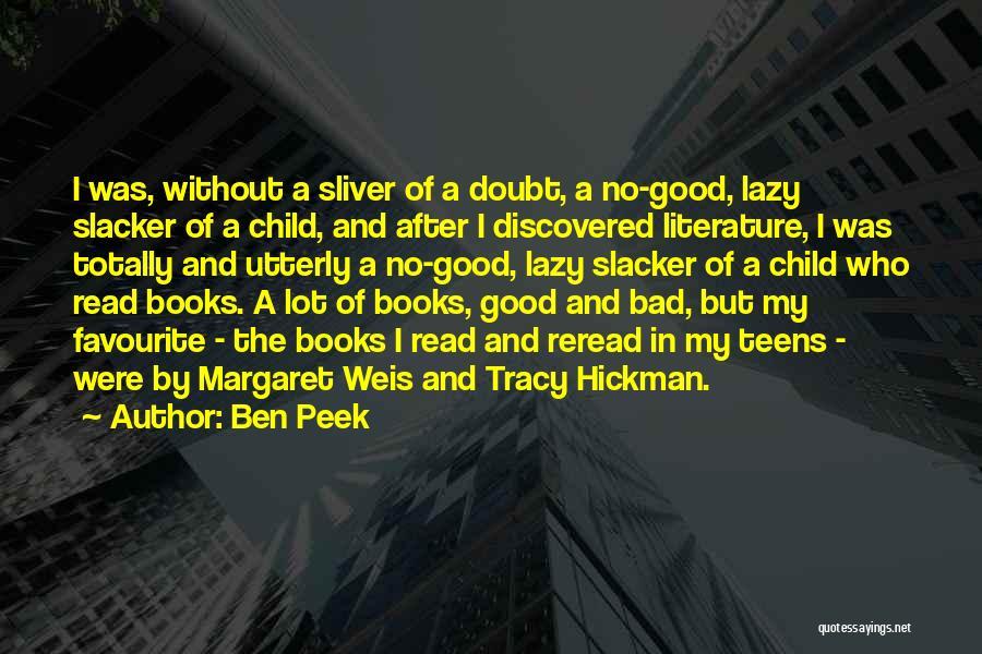 Ben Peek Quotes 1552684