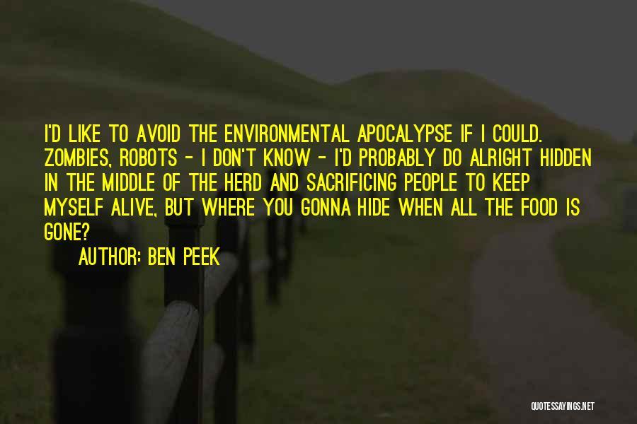 Ben Peek Quotes 897138