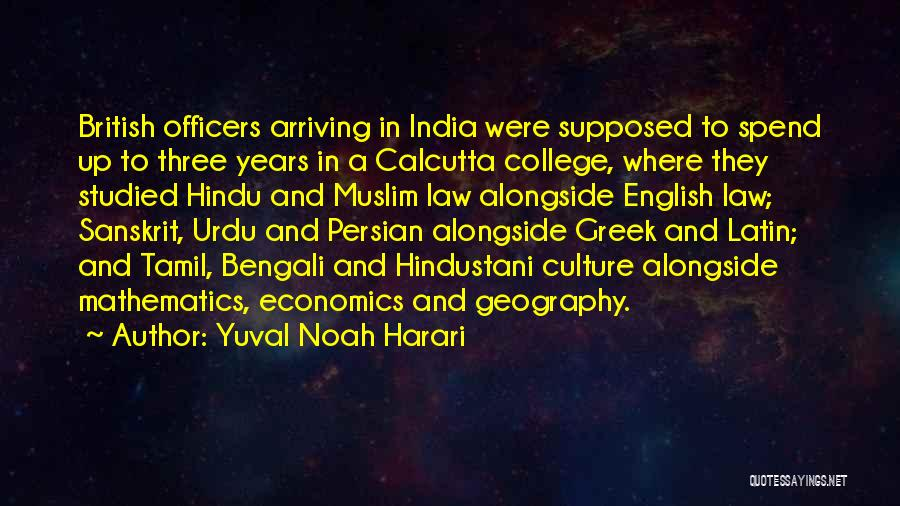 Bengali Culture Quotes By Yuval Noah Harari
