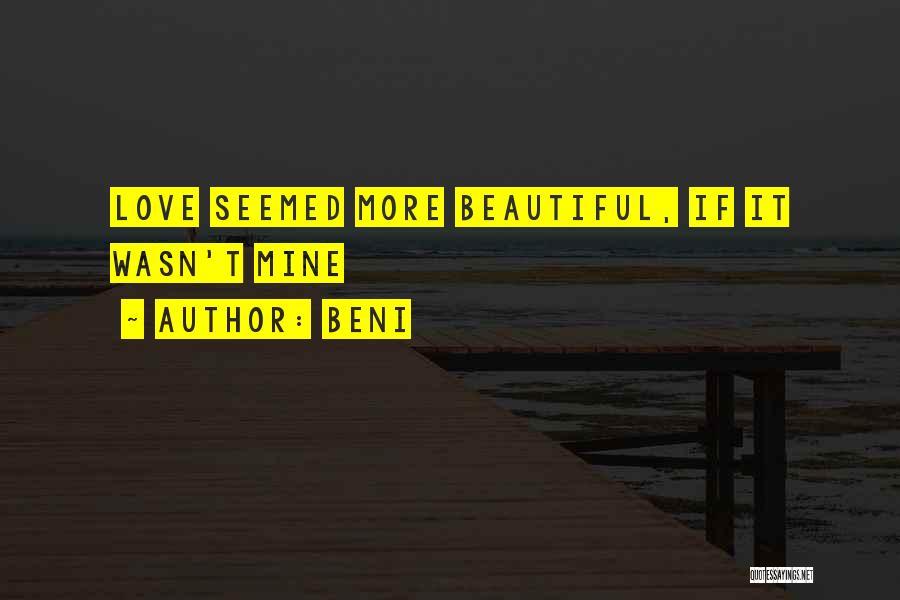 Beni Quotes 1734311