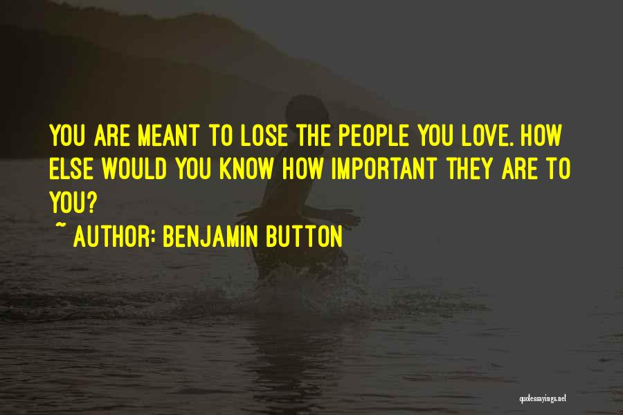 Benjamin Button Famous Quotes & Sayings
