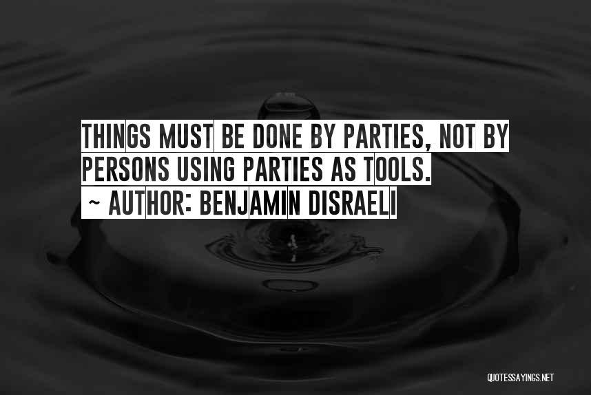 Benjamin Disraeli Quotes 1084876