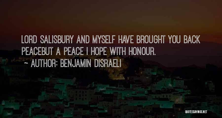 Benjamin Disraeli Quotes 1518742