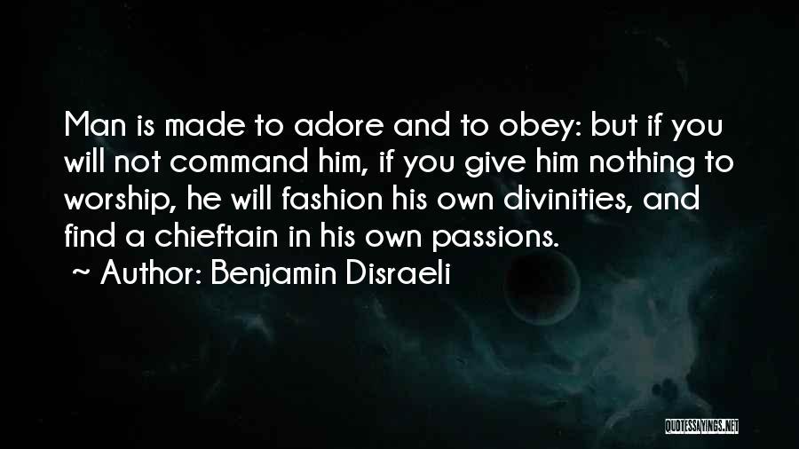 Benjamin Disraeli Quotes 1651862