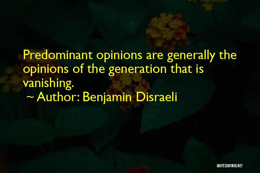 Benjamin Disraeli Quotes 1980507