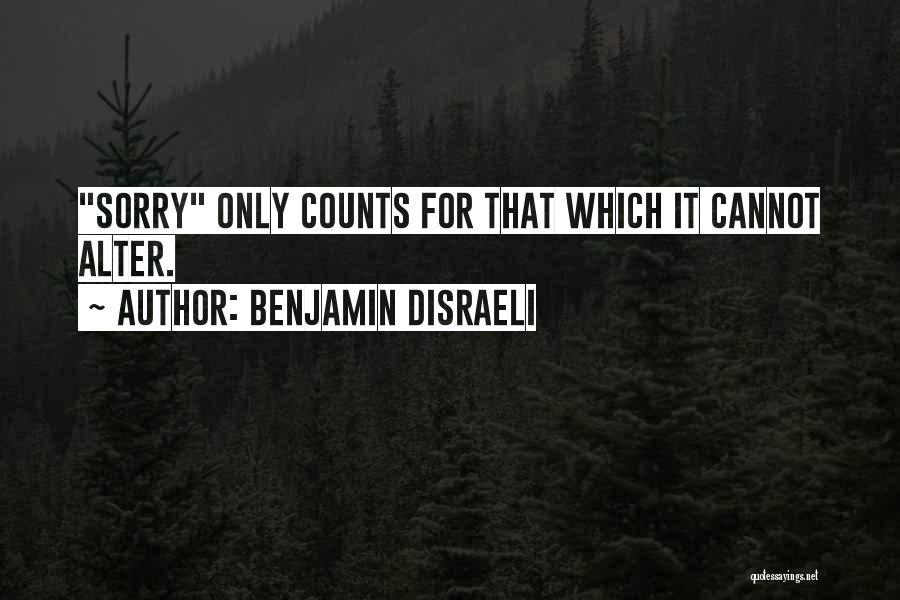 Benjamin Disraeli Quotes 245786