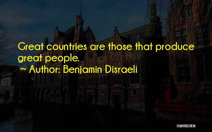 Benjamin Disraeli Quotes 405591