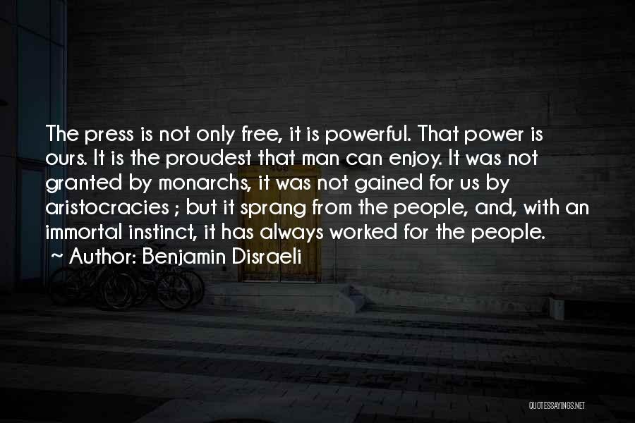 Benjamin Disraeli Quotes 467214