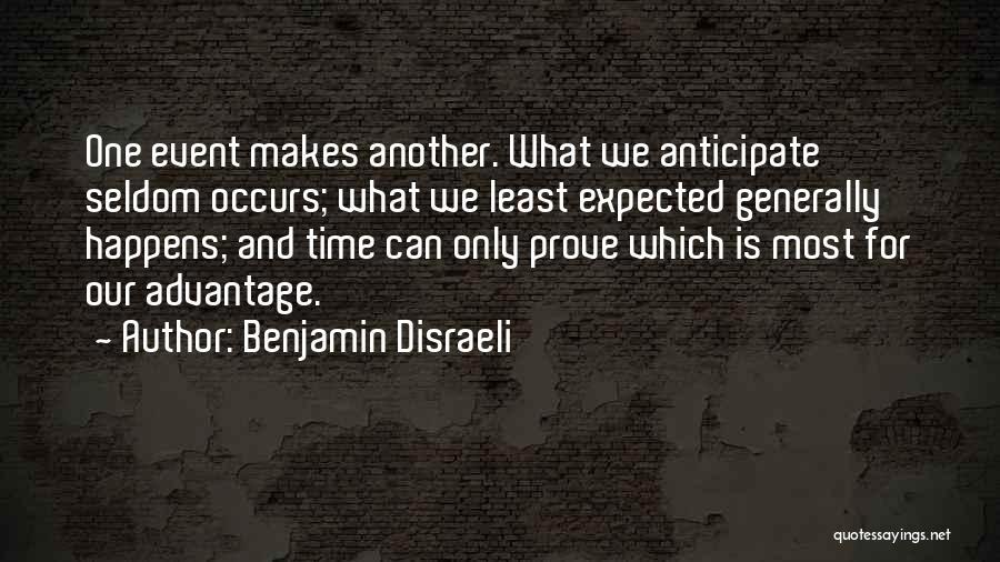 Benjamin Disraeli Quotes 731344