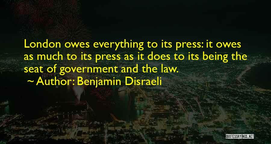 Benjamin Disraeli Quotes 820659