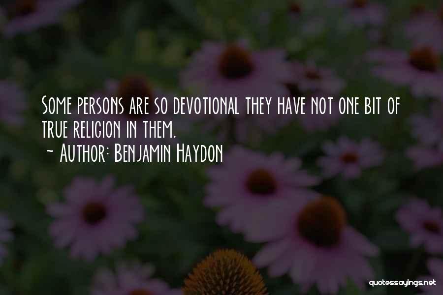 Benjamin Haydon Quotes 1268139