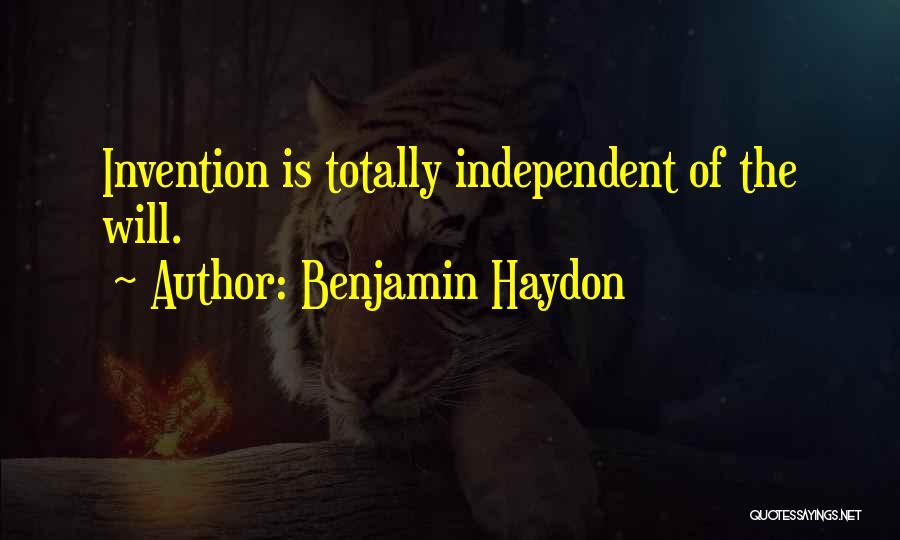 Benjamin Haydon Quotes 1482356