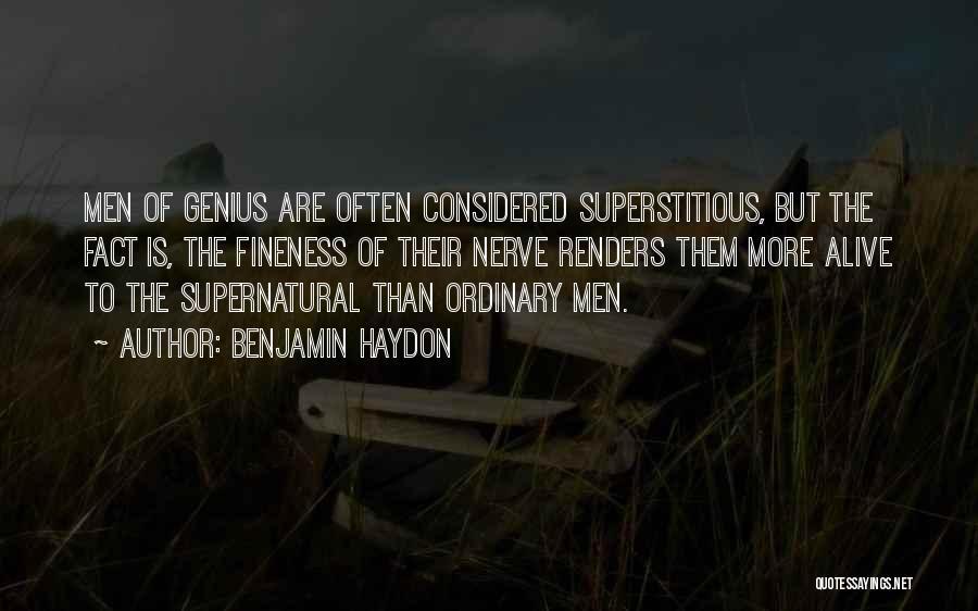 Benjamin Haydon Quotes 1634699