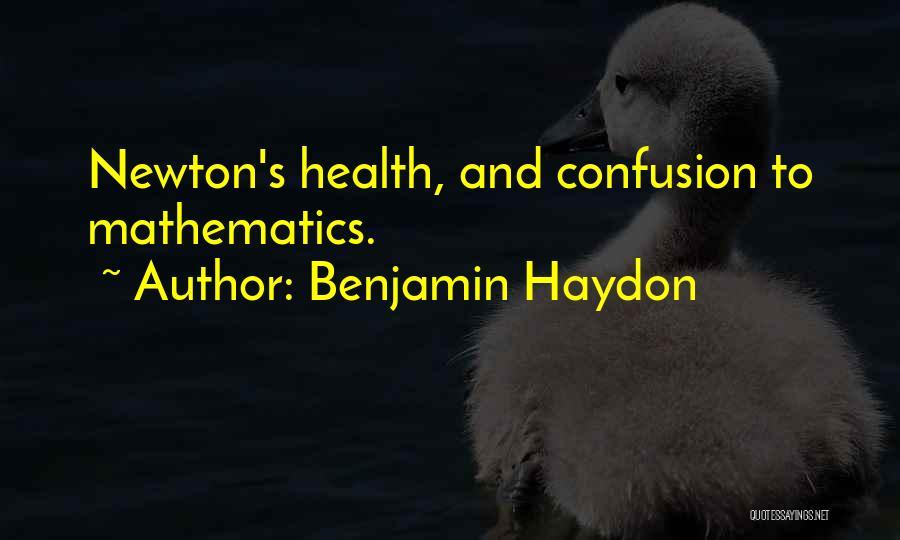 Benjamin Haydon Quotes 1689112
