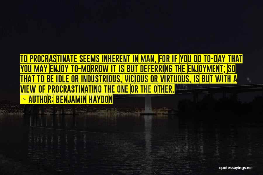 Benjamin Haydon Quotes 172286