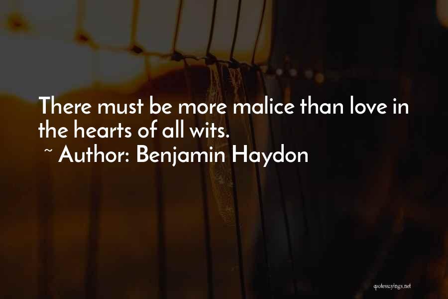 Benjamin Haydon Quotes 1813121