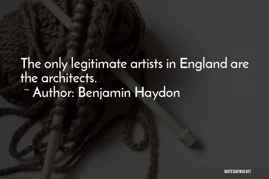 Benjamin Haydon Quotes 1984103