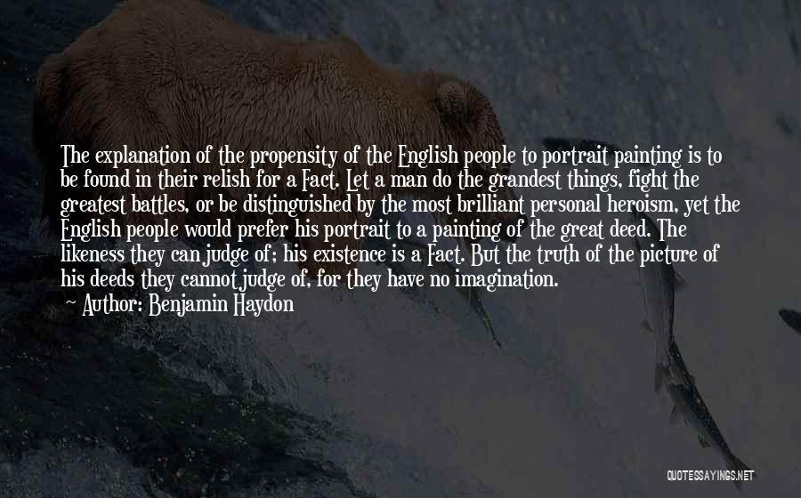 Benjamin Haydon Quotes 2005811