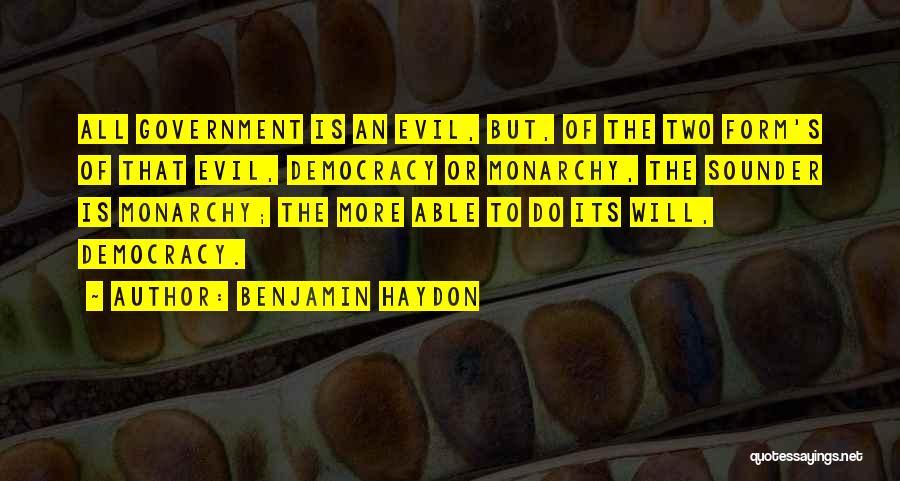 Benjamin Haydon Quotes 2118780
